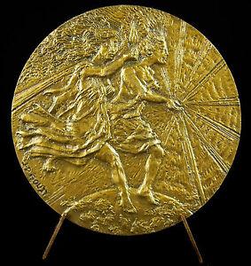 100% De Qualité Médaille Allégorie De L'électricité De France Edf 1987 J P Gouzy électric Medal