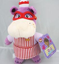 "EUC Disney Store Jr Doc McStuffins 8"" Hallie Hippo Plush Doll  Toy US Shipped"