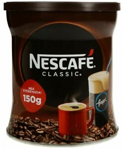 COFFEE-NEW-PACK-GREEK-NESCAFE-CLASSIC-FRAPPE-INSTANT-150gr