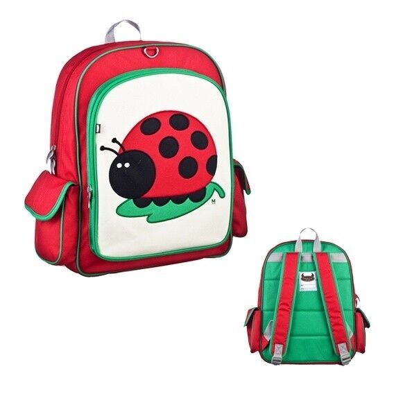 NEW RRP $70 LARGE BEATRIX NY KIDS BACKPACK JU JU THE LADY BUG
