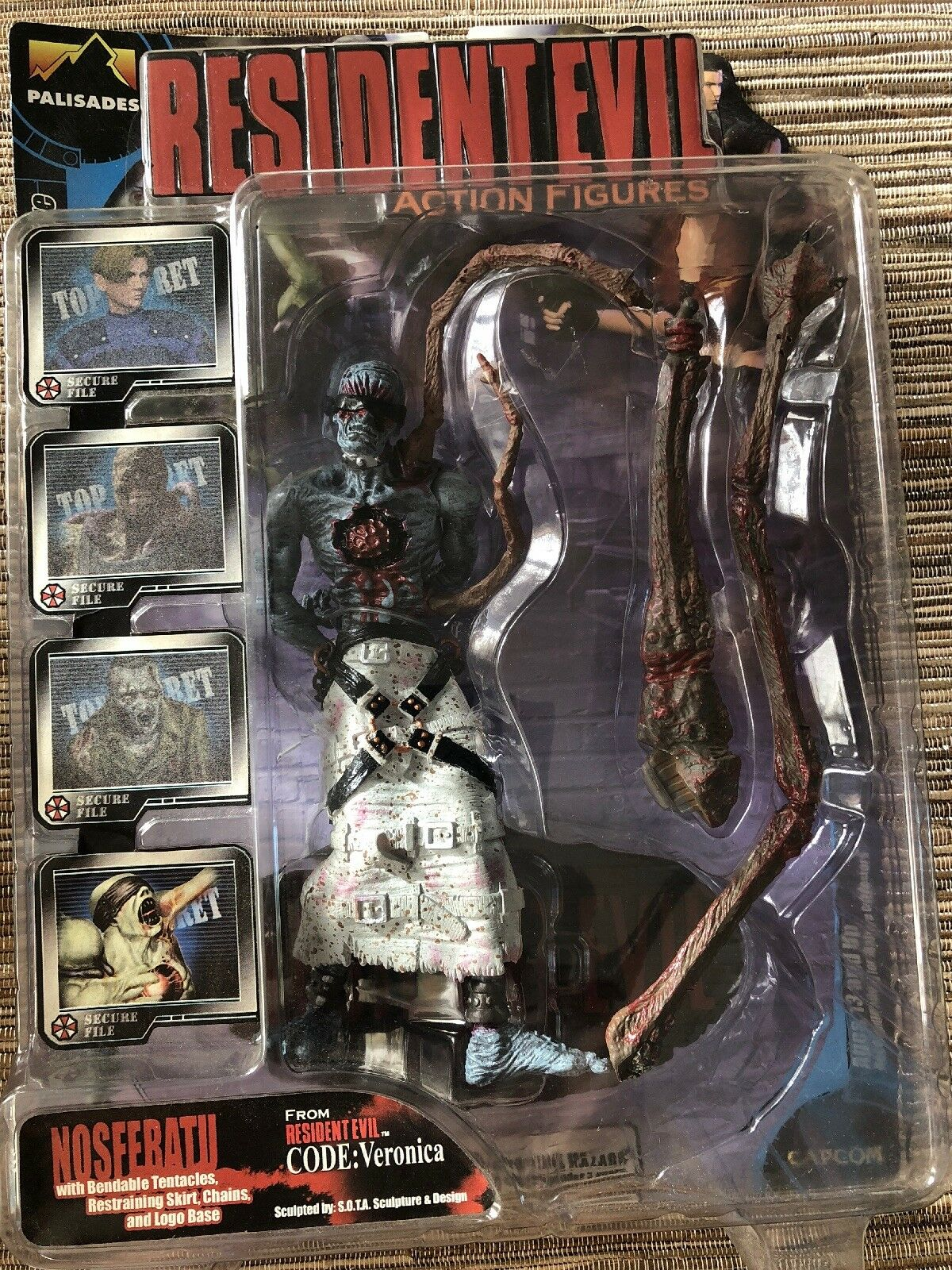 Resident Resident Resident Evil Palisades Series 1 Nosferatu Figure - New c54a5a