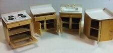 COMPLETO set da cucina, casa di bambole in miniatura, lavandino, CUCINA, 1.12 SCALE MINIATURES