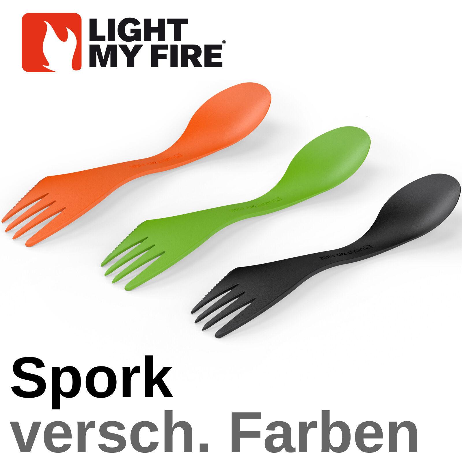 Light My Fire Spork - Couleur de Choix Votre Choix de - Göffel Fourche Couteau Cuillère - fba3c7
