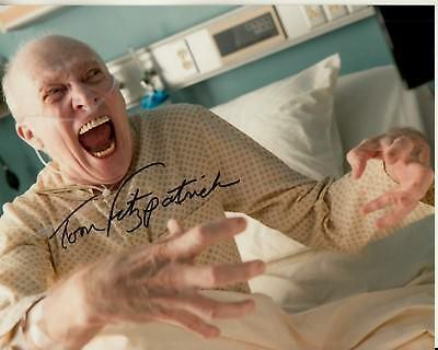 Photographs Autographs-original Chapter 2 Color 8x10 Closeup Uacc Rd Coa Big Clearance Sale Tom Fitzpatrick Hand-signed Insidious