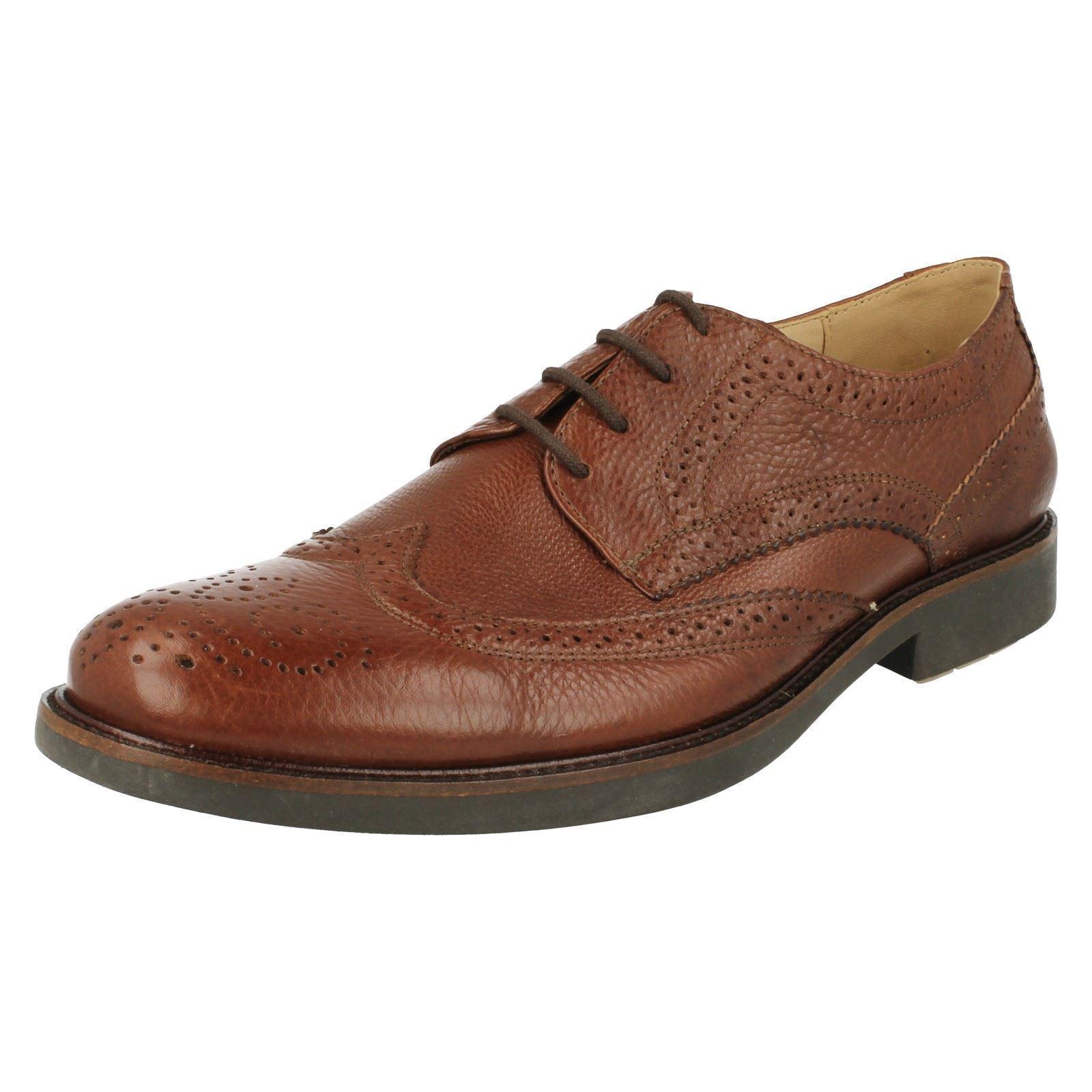 Anatomic & Co PALMA 909036 Uomo Pelle Marrone robuste lacci delle scarpe (R40A)