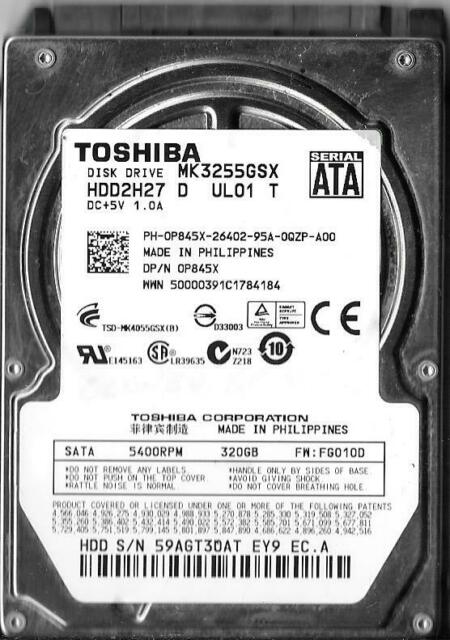 TOSHIBA MK3255GSX WINDOWS 7 64BIT DRIVER
