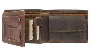 Kleidung & Accessoires KöStlich Greenland-nature Montana Gents Leather Wallet With Coin Section 170 Ausgereifte Technologien Geldbörsen & Etuis
