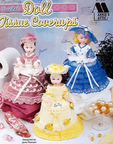Crochet  Doll Tissue Coverups  Annie/'s Attic