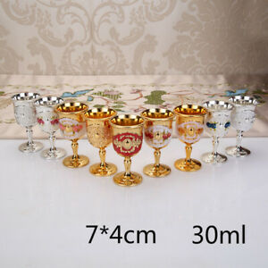 Tarot Water Elemental Chalice Goblet Cup Wicca Altar Pagan Retro Props Mini Chic