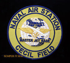 NAS CECIL FIELD FL MASTER JET BASE US NAVY USS PATCH PILOT AIRCREW WING WOW