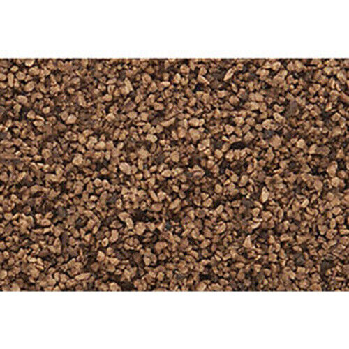 Ballast  This is A Package of Woodland Scenics' Fine Ballast (Brown) #B72 Woodla