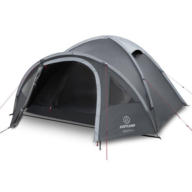 Campingzelt JUSTCAMP Scott 4 – Dark