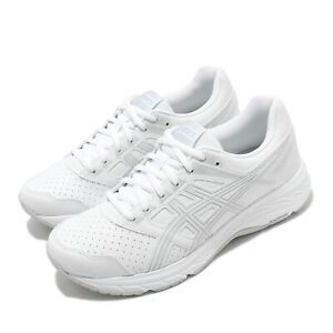 Asics-Gel-Contend-5-SL-Wide-White-Grey-Women-Running-Shoes-Sneakers-1132A043-100