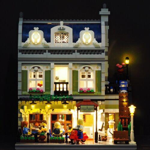 NEW Led light Kit for LEGO 10243 Creator Parisian Restaurant Expert lighting LED