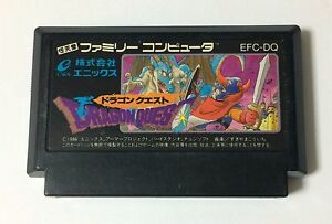 USED-Nintendo-FC-Dragon-Quest-JAPAN-NES-Game-Soft-Only-Famicom-Family-Computer