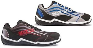 Sparco-Touring-grey-black-or-black-red-S1P-breathable-safety-trainer-shoe
