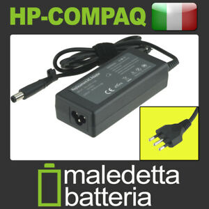 Alimentatore-18-5V-3-5A-65W-per-HP-Compaq-Presario-CQ60-301SL