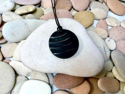 Breeze Pendant stone in Shungite Authentic Stone