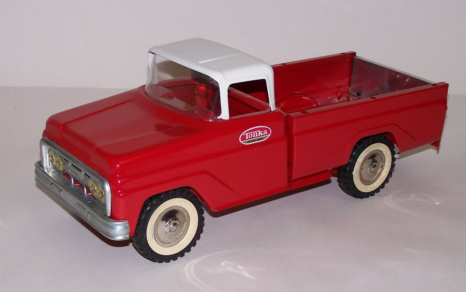 Tonka Toys '62-'63 Pickup Truck Restorosso Practically New Pressed Steel