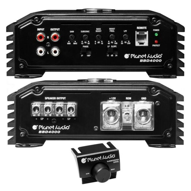 Planet Audio BB2500.1 Big Bang 2500 Watts Monoblock Class D Car Amplifier 2500W