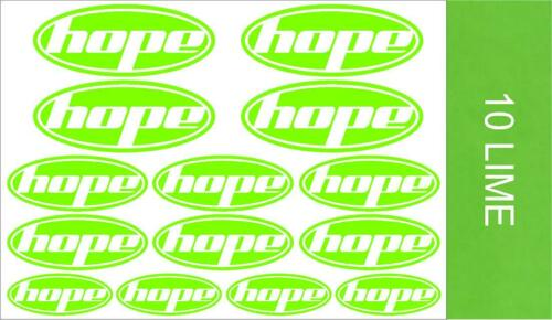 Stickers Car Hope Decals Mtb Bmx Cycling Van