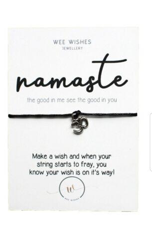 Wish Bracelet Anything Is Possible Costume Jewellery Motivational Gift Wish String Heart Bracelet Cord Bracelet