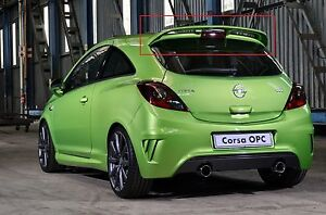 Opel Vauxhall Corsa D Rear Roof Spoiler Opc Look New Nurburgring Edition 3 Doors Ebay