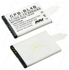 BL-4B 800mAh battery for Nokia 2505 2605 Mirage 2630 2660 2760 5000 6111 7070