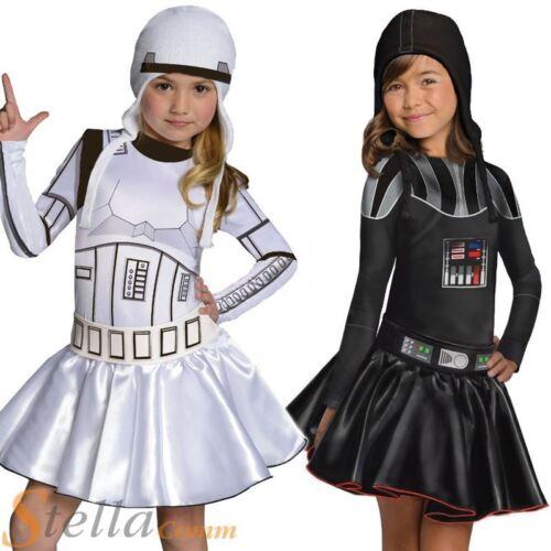 Les filles star wars force éveille COSTUME ROBE FANTAISIE livre semaine enfant kids outfit