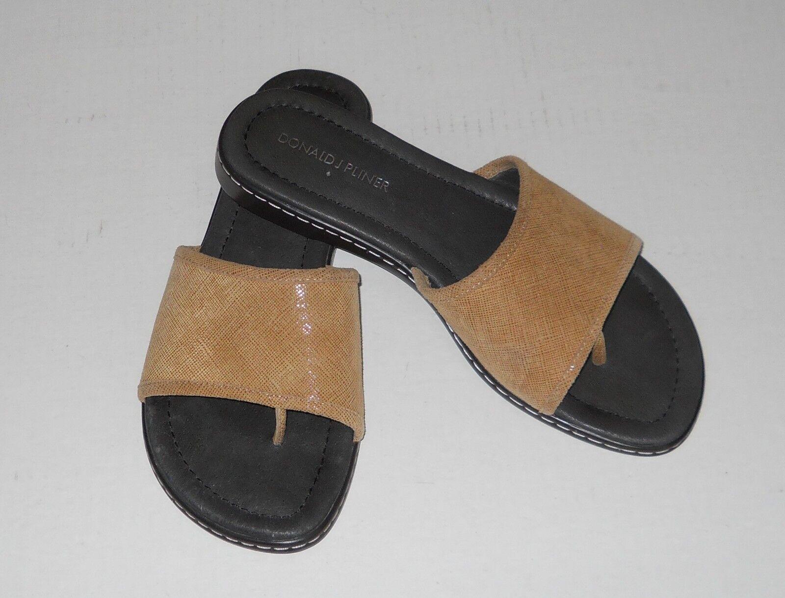 Donald J Pliner Sandals Beige Camel Camel Camel colore Dimensione 6.5 Designer 190fa2