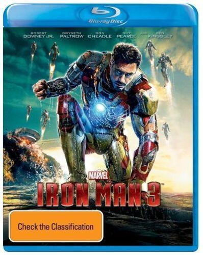1 of 1 - Iron Man 3 (Blu-ray, 2013)