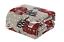 Ultra-Soft-amp-Cozy-Oversized-Christmas-Gray-Snowy-Barn-Plush-Throw-Blanket-Cover thumbnail 1