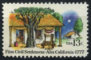 EE. UU. 1977 SG#1699 primer asentamiento civil estampillada sin montar o nunca montada #D55503