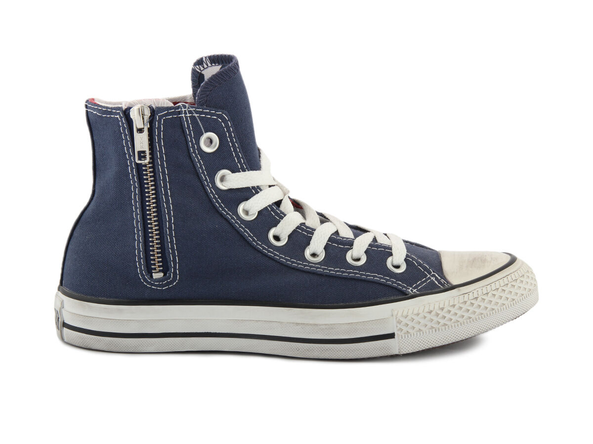 CONVERSE CT SIDE ZIP HI 137806C NAVY STARS sneakers Unisexschuhe