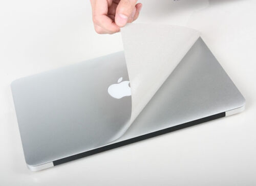 "Full body protector skin Guard Fit Macbook Air 13/"" 11/"" Pro 13/"" 15/"" Up /& Bottom"