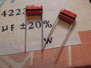 Mullard Poissons Tropicaux Condensateurs 0.022uf, 250 V, 20%, C280 Tone QuantitÉ 4 Pièces-afficher Le Titre D'origine