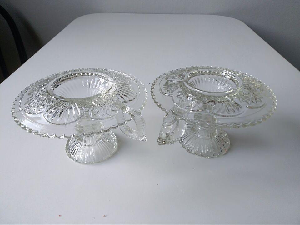 Glas, Kammer stager, Måske Fynsk glasværk