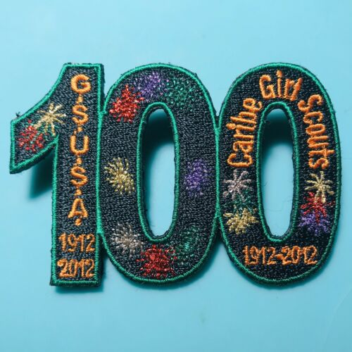 Caribe Girl Scouts Council Puerto Rico 100th Anniversary 2012 Patch Pin