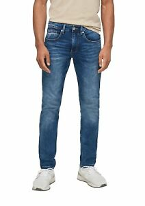 Q/S designed by Men Skinny Fit: Tapered leg-Jeans Neu