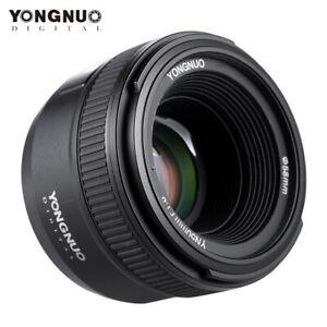 YONGNUO YN50mm F1.8 Large Aperture Auto Focus Lens For Canon Nikon DSLR Camera