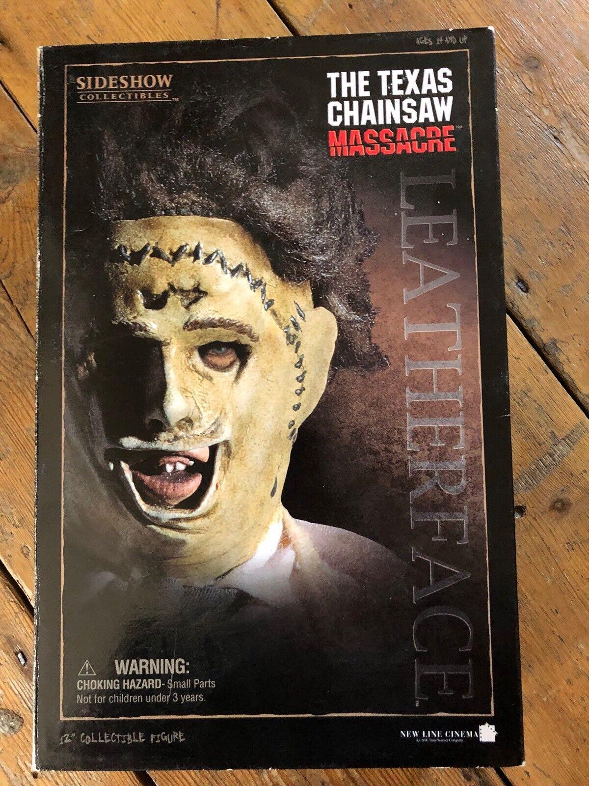 Sideshow Texas Chainsaw Massacre Leatherface Gunnar Hansen  AFSSC109
