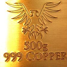 500g fine Rame / Copper Ingot / Lingotto | Bullion Bar