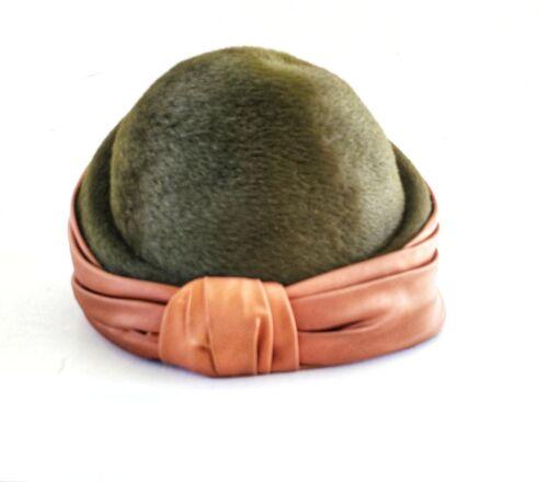 Vintage Hat Turban Style Elsa Schiaparelli Paris F