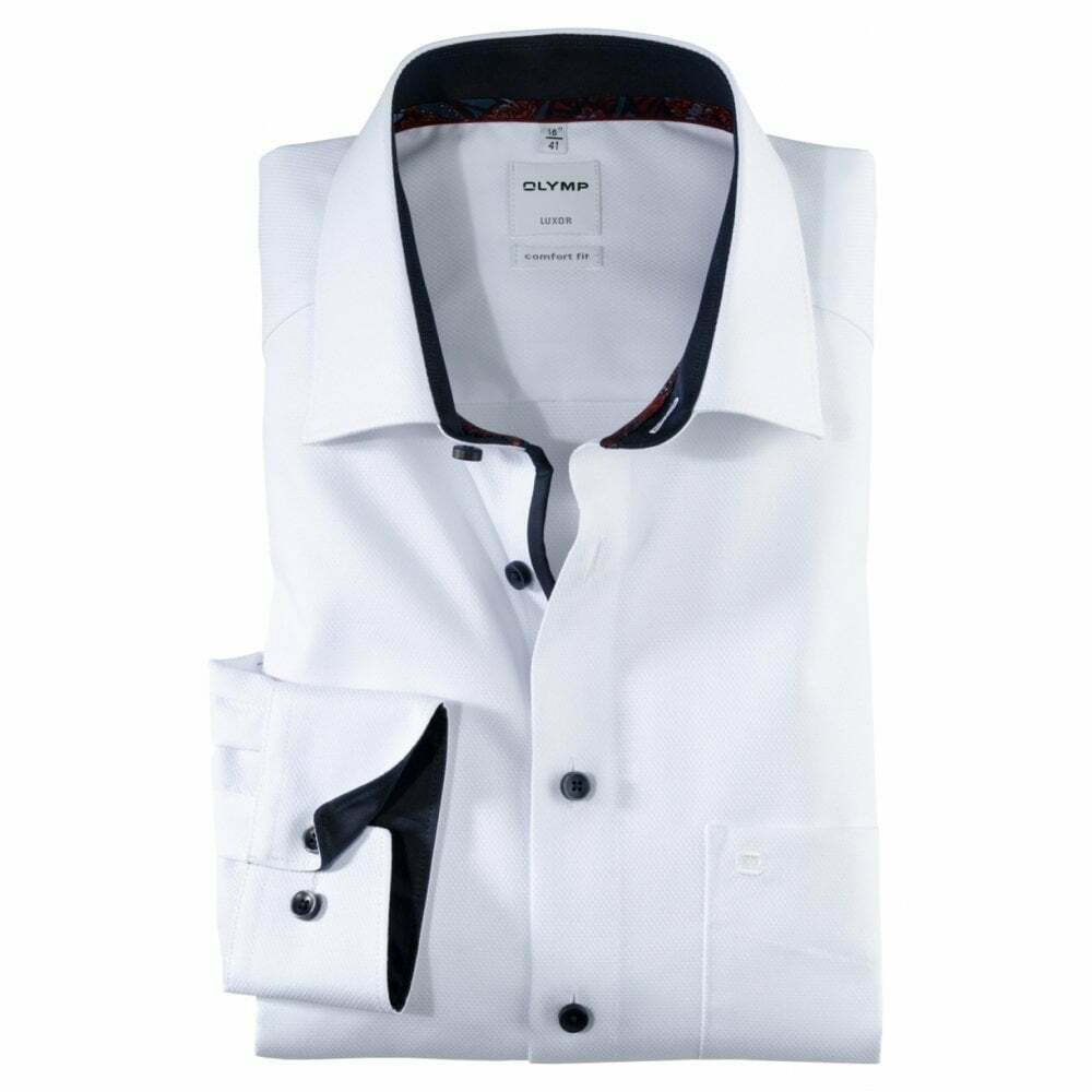 Olymp Self Colour Pattern Formal hemd