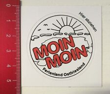 Aufkleber/Sticker: Moin Moin - Ferienland Ostfriesland (230316128)