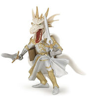 Papo 36007 White Dragon Man Fantasy Model Game Role Play Figure - Nip