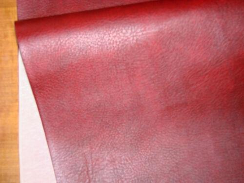 Simili cuir bordeaux au mètre automobile ameublement Tissu Revetement Skaï