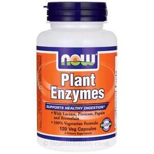 Now Foods enzimi vegetali 120 o 240 Vcaps per il supporto digestivo sano