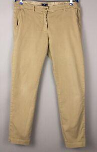 GANT Damen Slim Stretch Chino Hose Größe UK20 US16 (W36 L32) BBZ189