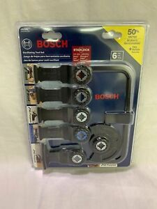 Bosch-FEIN-Starlock-6-PC-Accessory-Blade-Set-OSL006-SHIPS-SAME-OR-NEXT-BUS-DAY